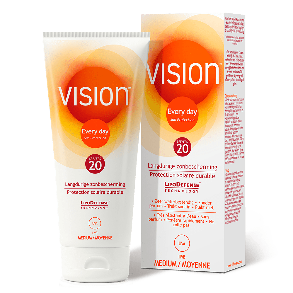 Vision Every Day Sun Protection - SPF 20 - 200 ML