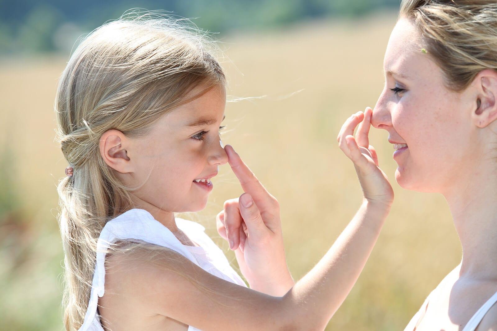Bescherm kinderen tegen de zon